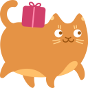 delivery,cat icon