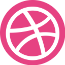 ubercons, social, dribble, socialpack icon