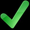 green, go, positive, confirmed, ok, yes, accept, check icon