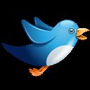 Birdie, Blue, Twitter icon