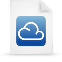 file, cloud, document icon