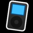 black, ipod icon