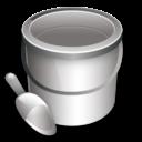 construction bucket icon