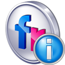 Flickr, Info icon