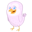 bird, twitter, animal icon