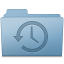 Backup, Blue, Folder icon