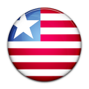 country, liberia, flag icon