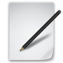 file, document, paper, edit, write, writing icon