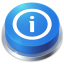 perspective, button, info icon