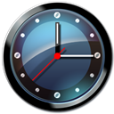 Clock, Shadow icon