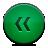 green, button, rewind icon