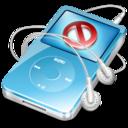 ipod video blue no disconnect icon