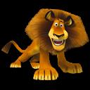 Alex, Angry, Madagascar icon