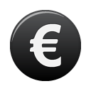 euro, currency icon