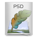 File Types PSD icon