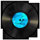 vinyl, blue icon