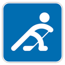 Hockey, Ice, icon