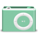 shuffle,green icon