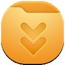 folder, downloads icon