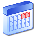 schedule, month, date, calendar icon