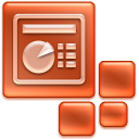 powerpoint, ppt icon