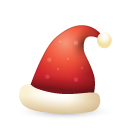 hat, christmas icon