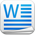 File, Ms, Word icon