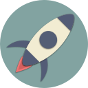 start, rocket, spaceship, universe, astronaut, astronomy, space icon