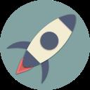 start, rocket, spaceship, universe, astronaut, astronomy, space icon