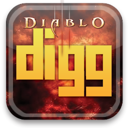 digg, diablo icon