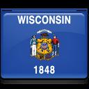 Wisconsin Flag icon
