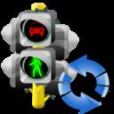 Lights, Refresh, Traffic icon