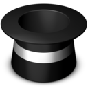 top,hat icon