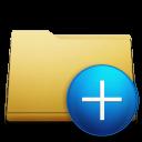 plus, classic, folder, add icon