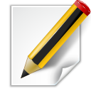 paper, writing, write, document, file, edit icon