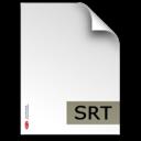 srt,fileextension icon