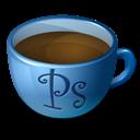 Coffee, Photoshop icon