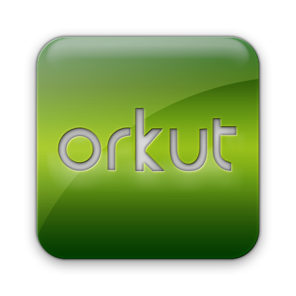 square, orkut, logo icon