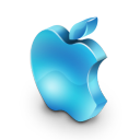 lightblue, mac icon
