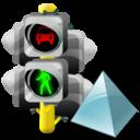 Level, Lights, Traffic icon