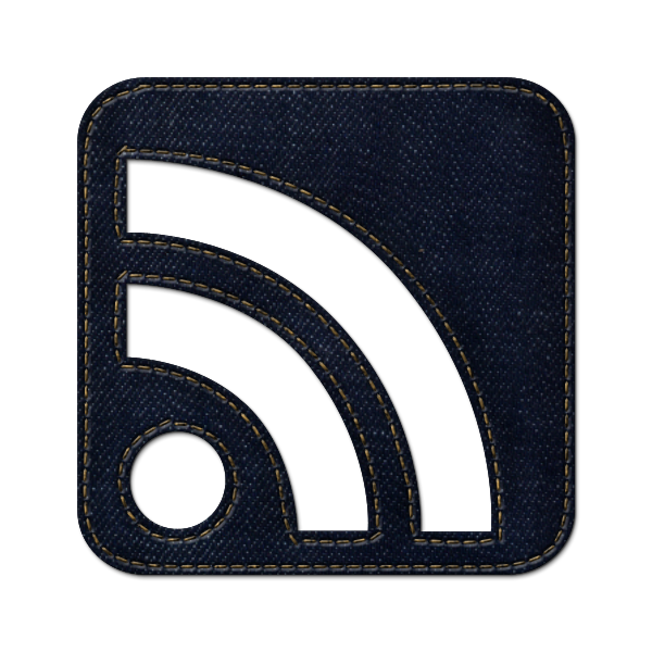 denim, rss, jean, subscribe, cube, social, feed icon