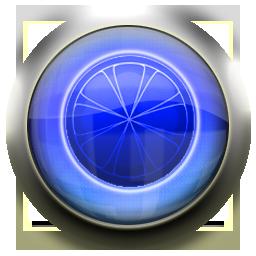 blue, limewire icon
