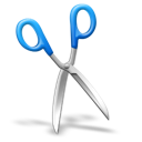 scissors, cut icon