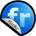 Blue, Ccink, Flickr icon