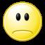 gnome,face,sad icon