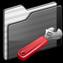 developer,folder,black icon