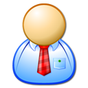 employee, manager, male, man, personal, administrator, operator, user icon