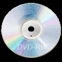 blue, disc, dvd, rw icon