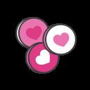fav, bange, heart, like, favourite, love icon