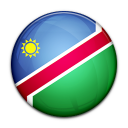 country, namibia, flag icon